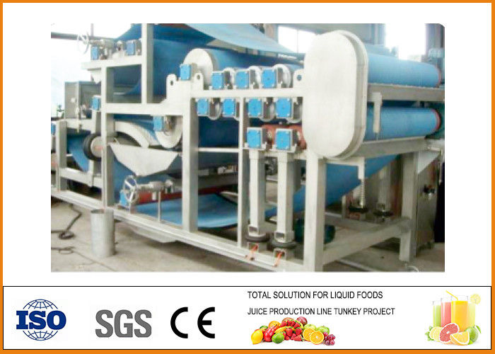SUS304 5T/H Apple Juice Production Line / Pear Juice Processing Line