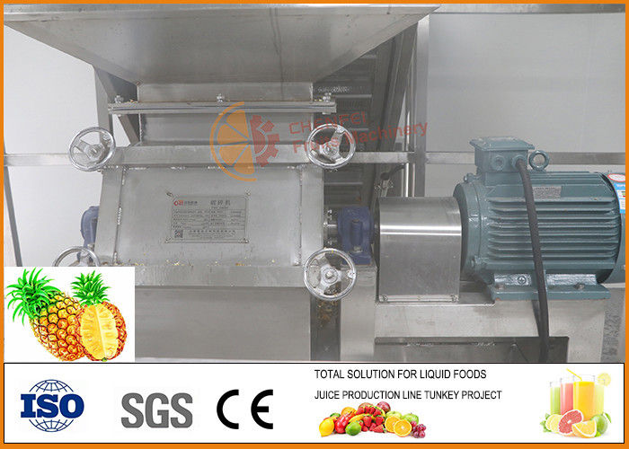 CFM-B-02-03T Pineapple Processing Line 	45% Juice Yield Automatic Concentrated