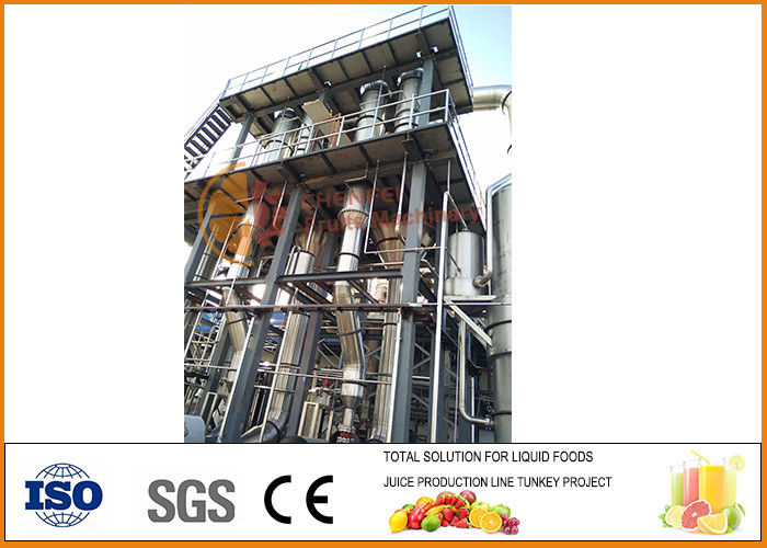 Circulation Type Multiple Effect Evaporation Single Machine Customized Dimension