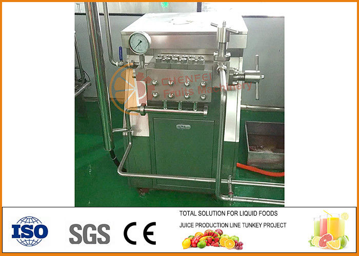 Juice Paste and Jam Blending Production Line CFM-B2-06-10-14