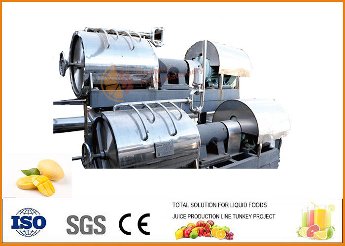 Automatic Concentrated Mango juice and jam Processing line ISO9001 Certification