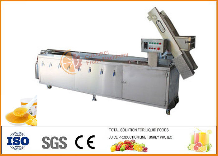 SS304 Pineapple Jam Processing Machine Line Stainless Steel Material