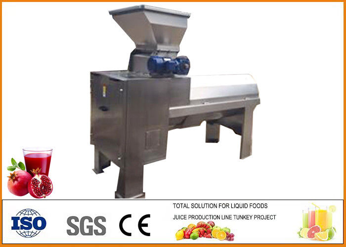 Automatic Fruit Juice Processing Equipment Energy Saving Stainless Steel Material