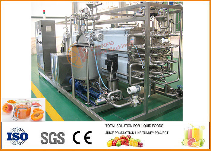 Complete Concentrated Apricot Paste Making Machine Processing Line